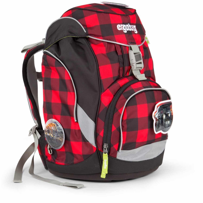 Рюкзак Ergobag LumBearjack с наполнением + светоотражатели в подарок, - фото 3